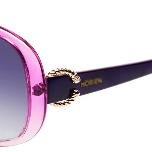 lunettes Mesdames de cadre Purple soleil grand polarisées TTrwqdg