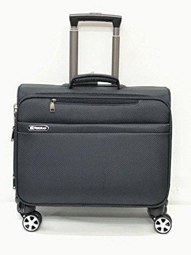(4 Wheel drive 360 Rolling Laptop Case Trolley Bag Catalog Bag Laptop Notebook 18