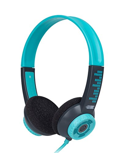 FSL Protec Kids Headphones with Adjustable Volume Limiting (Aqua)