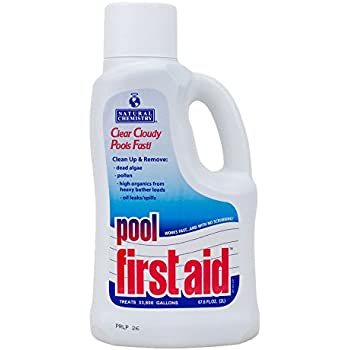 Natural Chemistry 03122 Pool First Aid Clears Cloudy Swimming Pool Water 2 Liters