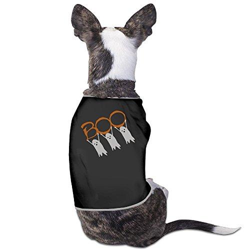 [YRROWN Boo! Halloween Dog Shirt] (Boo Monsters Inc Costume Toddler)