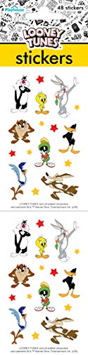 Playhouse Loony Tunes Bugs Bunny and Friends Pack of Three Perforated Sticker Sheets