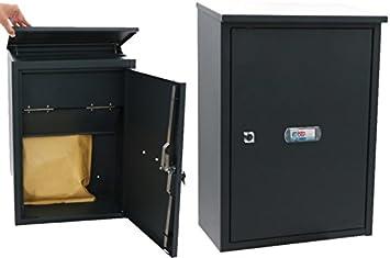 Btv packet box - Buzon exterior -24 acero grafito: Amazon.es: Bricolaje y herramientas