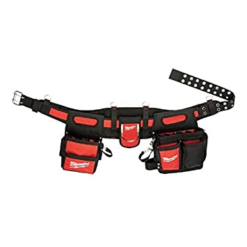 Milwaukee 48 22 8110 électricien Ceinture de travail avec poches 29 –  Rouge Noir 30bdfa2553e