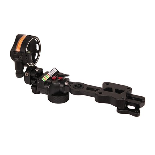 Image of Apex AG2311BD Covert Dovetail 1 Pin .010/.019 Archery Sight, Black, Left Hand/Right Hand Sights