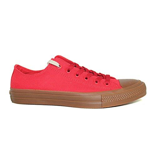 Converse 155499 Chuck Taylor All Star II Unisex Sneaker (Casino/Casino/Gum) Casino/Casino/Gum