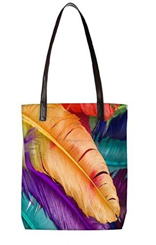 Snoogg Strandtasche, mehrfarbig (mehrfarbig) - LTR-BL-3294-ToteBag