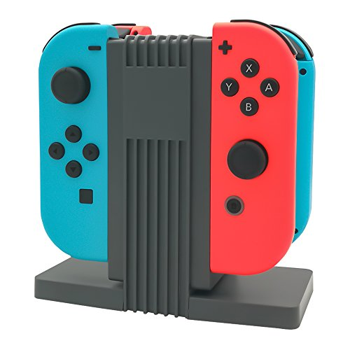Joy-Con Charging Dock for Nintendo Switch with a 3.3ft Type C Cable