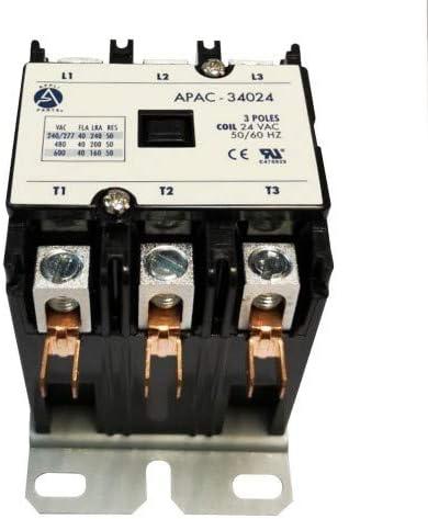 Accutemp AT0E-1587-4 3 Pole 24 Volt Contactor