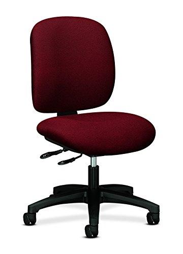 HON 5903AB62T Comfortask Multi-Task Swivel/Tilt Chair, Burgundy (Task Multi Chair Burgundy)