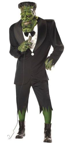 [Big Frank Adult Mens Frankenstein Halloween Costume] (Sale Halloween Costumes)