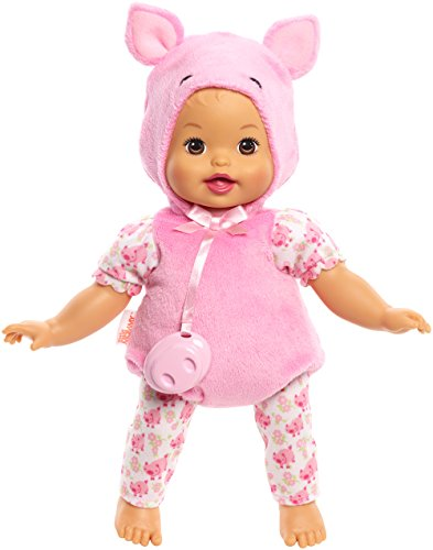 Doll Dress Up Costume (Little Mommy Dress Up Cuties Pig Doll)