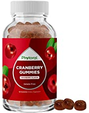 Cranberry Extract Gummy Vitamins for Adults - Cranberry Gummies Urinary Tract Health for Women plus Kidney Support Immunity Booster Antioxidant Supplement - Natural Cranberry Gummies for Women and Men