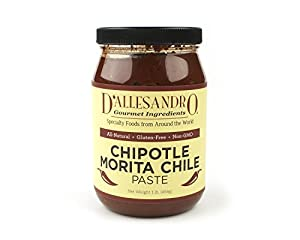 Paste Chipotle Morita - 4/1 Lb Jar Case from Angelina's Gourmet