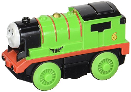 Wooden Thomas Tank Engine - Thomas & Friends Fisher-Price Wooden Railway, Train, Percy - Battery Operated Train