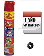 Masterlac Aerosol para eliminar Hormiga abeja - Efecto Fulminante - 1 año sin Hormiga - Bote con 750 ml