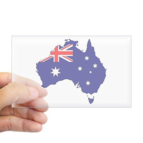 (CafePress Australia Flag Sticker Rectangle Bumper Sticker Car Decal)