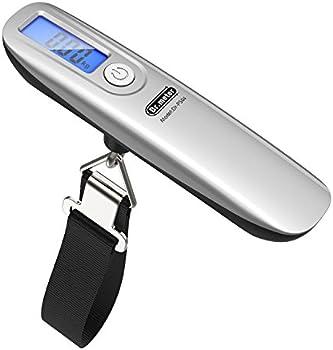Dr.meter 110lb Digital Hanging Luggage Scales w/Tape Measure