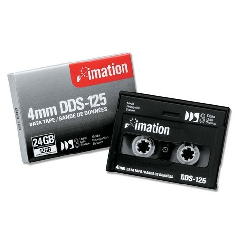 Imation 11737 4mm DDS-3 125m 12/24GB Data Tape Cartridge
