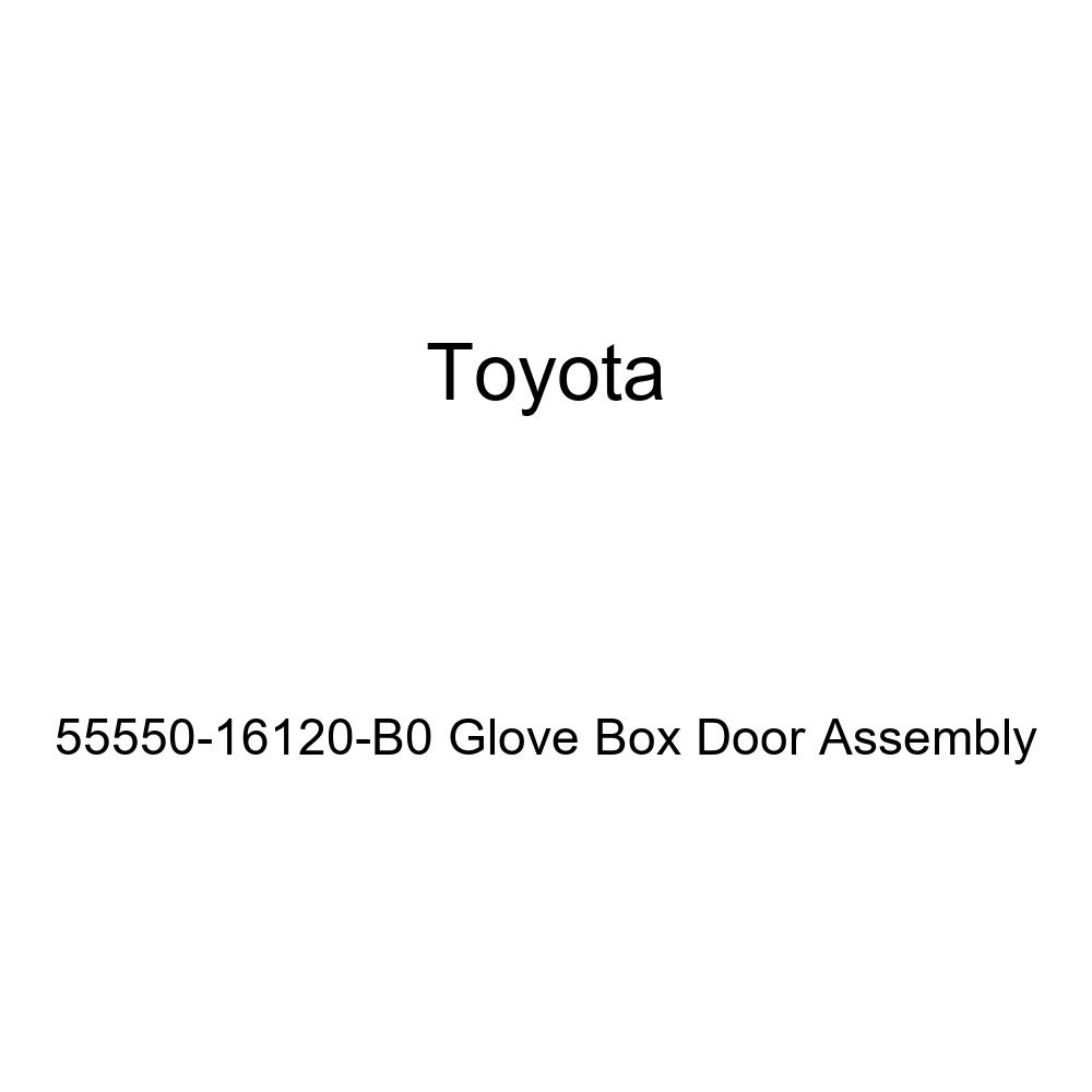 Toyota Genuine 55550-16120-B0 Glove Box Door Assembly