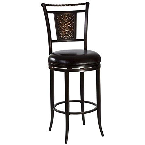 """BOWERY HILL 26"""" Swivel Counter Stool in Copper"""