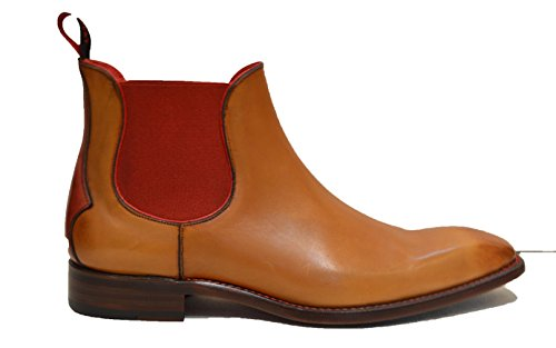 Mahogany Jeffery uomo Red West marrone Stivali ArqwnIrTO