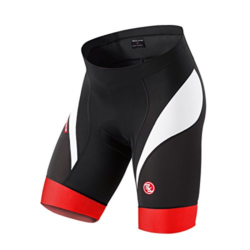 Eco-daily Men's 4D Padded Cycling Shorts Breathable Quick Dry Bike Bicycle Shorts