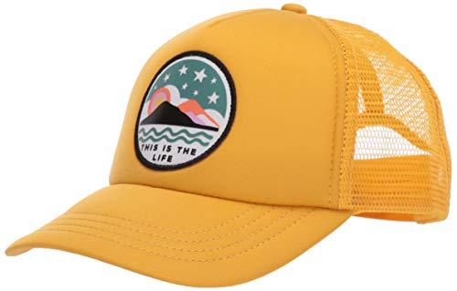 Accessories Billabong - Billabong Girls' Girls' Ohana Trucker Hat Bright Gold One Size