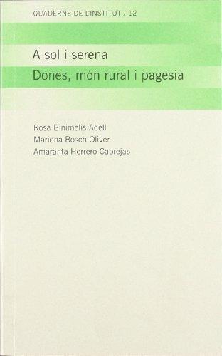 Descargar Libro Sol I Serena. Dones Rosa Binimelis Adell