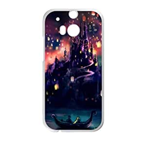 HUAH Tangled Cell Phone Case for HTC One M8