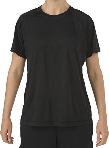 5.11 Camisa de entrenamiento de entrenamiento PT táctica para mujeres, tela que absorbe la humedad, estilo 31006