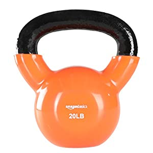 Well-Being-Matters 41gOVhJWbFL._SS300_ Amazon Basics Vinyl Coated Cast Iron Kettlebell Weight