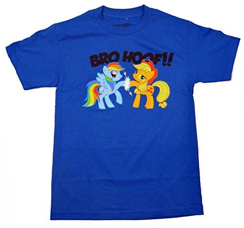 My Little Pony Bro Hoof T-shirt (Large, Blue)