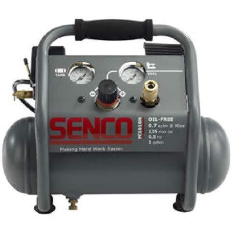 SENCO PC1010NR 0.5 HP 1 Gallon Finish and Trim Air Compressor (Renewed)