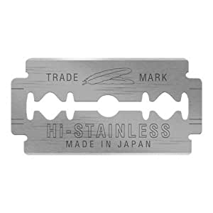Feather 10 Razor Blades New Hi-Stainless Double Edge