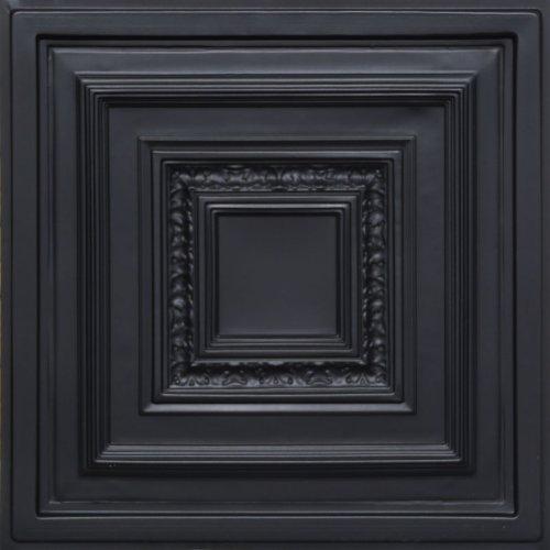 Antyx Black 24x24 Ceiling Tile