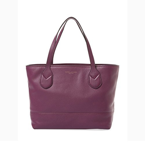 Marc Jacobs Tote Small (Marc by Marc Jacobs Leather Tote (Aubergine))