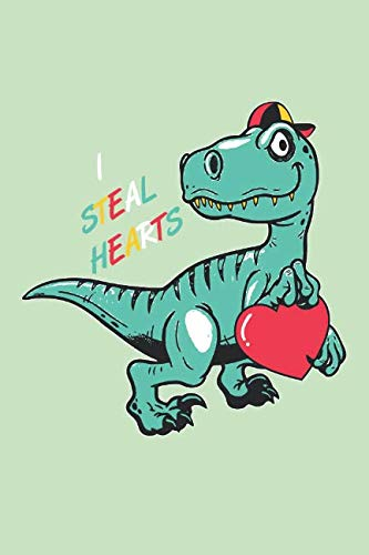 I steal Hearts: Book for Kids who love Dinosaurs