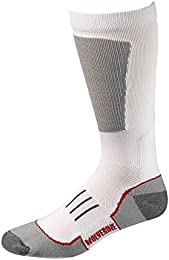 Men's Socks Ultimate Safety Over The Calf White 1pair