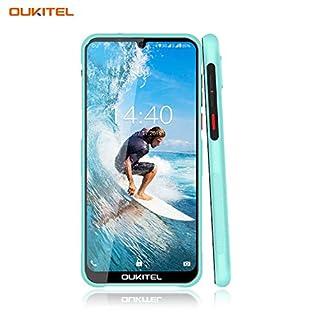 "OUKITEL Y1000 Unlocked Phones, Rugged Smartphone Android 9.0 Phones IP68 Waterproof 6.1"" 32+2GB/128GB Expandable Face ID&Fingerprint Unlock Dual Sim Phone(Light Blue)"