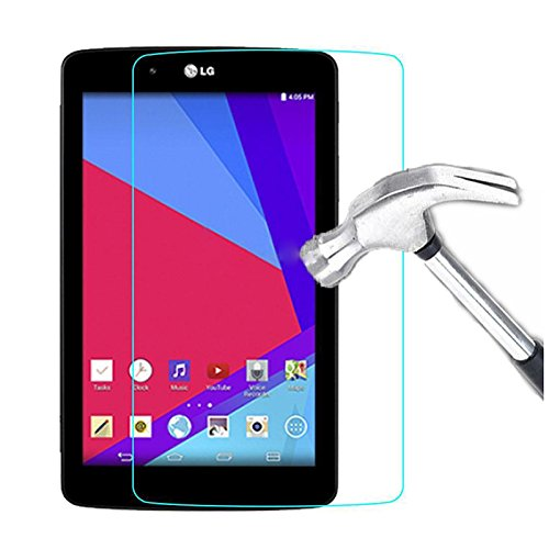SODIAL(R) 9H Tempered Glass Screen Protector Film Skin Cover For LG G Pad 7.0 V400 V410 - V410 Lg Screen Protector Tablet