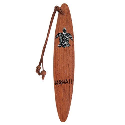 - Hawaiian Koa Wood Honu Turtle Bookmark From Hawaii