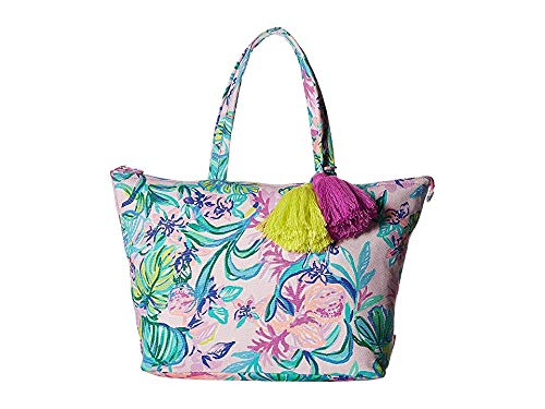 3c53ea6495550 Lilly Pulitzer Women's Palm Beach Zip Up Tote
