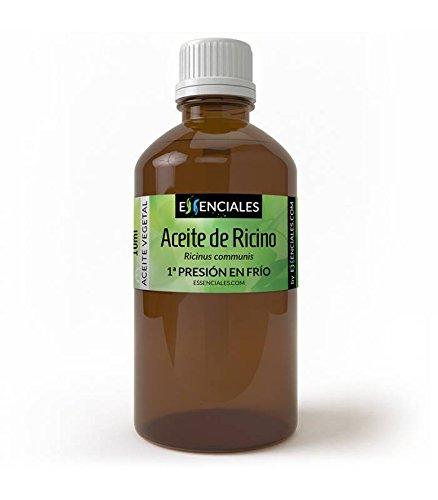 Aceite de Ricino - Aceite base de 1º presión en frío (máxima calidad) - 100% PURO - 100 ml