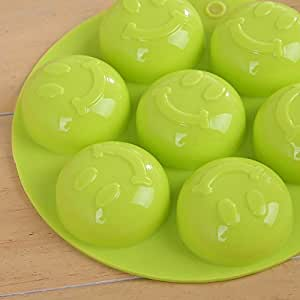 Lovely Smile Silicone Ice Mold Soap Cake Candy Chocolate Mold Ice Cube Mold