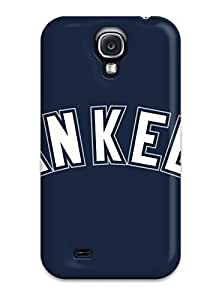 Awesome Yankees Logo Mlb Flip Case With Fashion Design For Galaxy S4