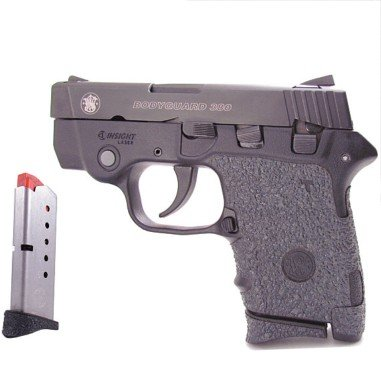Talon Grips for Smith & Wesson Bodyguard 380 Rubber 701R W/Two Extended Magazine Grip 739R