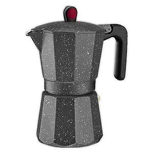 Cafetera italiana MONIX ROCK 6 tazas | MONIX Induccion Vitro Gas ...