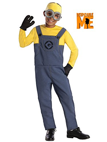 Rubie's Despicable Me 2 Deluxe Dave Minion Costume, Medium
