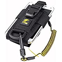 3M DBI-SALA Fall Protection For Tools,1500089,Adj Radio Holster Combo w/Clip2Loop Coil andMicro D-Ring,Size To Any Portable Radio/Small Device,Mount To Harness/Belt